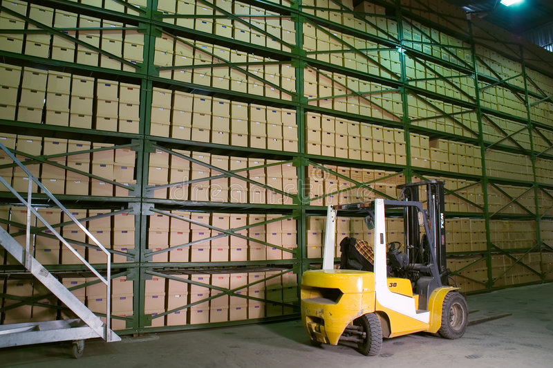 Download Warehouse. Stock Photo - Image: 1538080