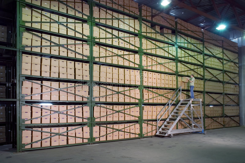 Download Warehouse. stock image. Image of amass, distribution, facility - 1538215