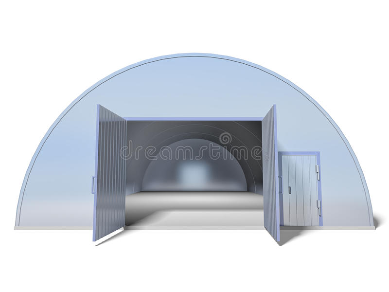 Download Warehouse stock illustration. Image of white, storage - 19994009