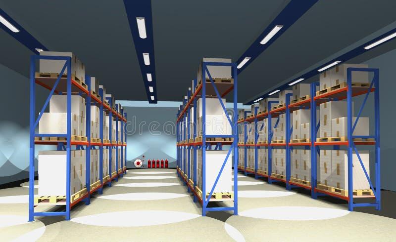 Download Warehouse. Royalty Free Stock Photos - Image: 26874618