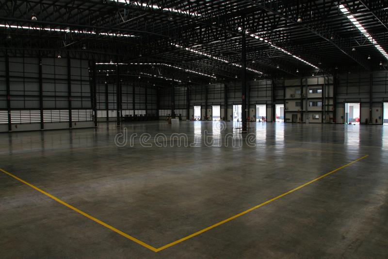 A warehouse is a commercial building for storage of goods. Warehouses are used by manufacturers, importers, exporters, wholesalers, transport businesses stock photography