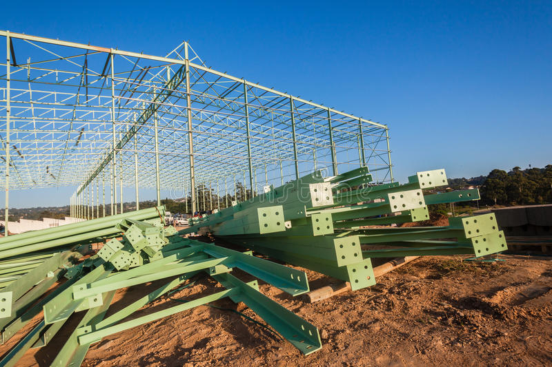 Warehouse Building Construction Site royalty free stock images