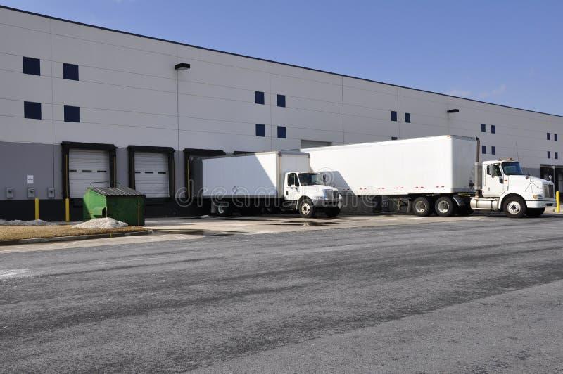 Download Warehouse docks stock image. Image of unload, commerce - 8089129