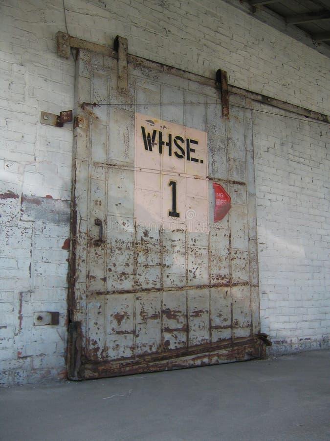 Free Warehouse Door Royalty Free Stock Photos - 116188