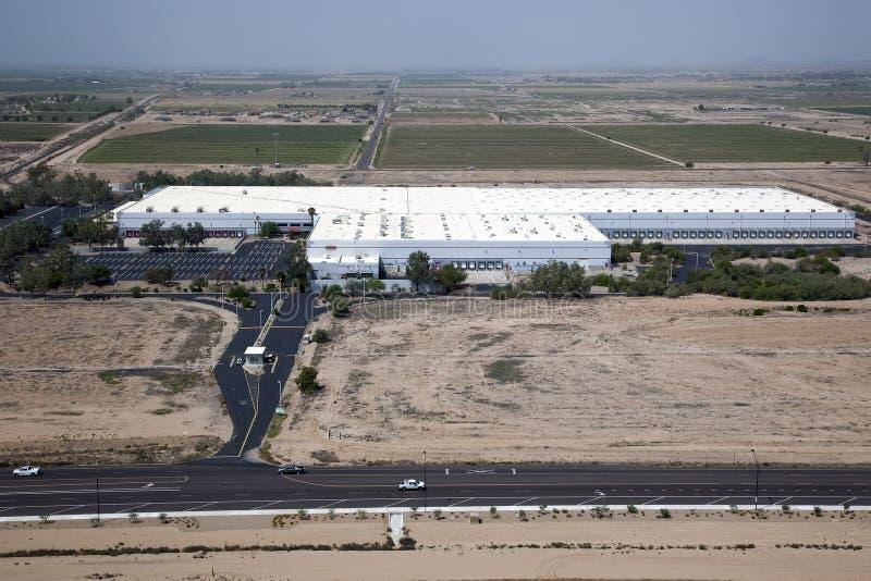 Warehouse industrial grande imagenes de archivo
