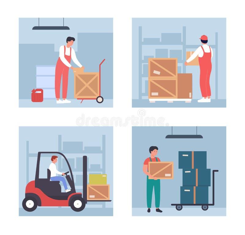 Warehouse Shelves Stock Illustrations – 1,734 Warehouse Shelves Stock  Illustrations, Vectors & Clipart - Dreamstime