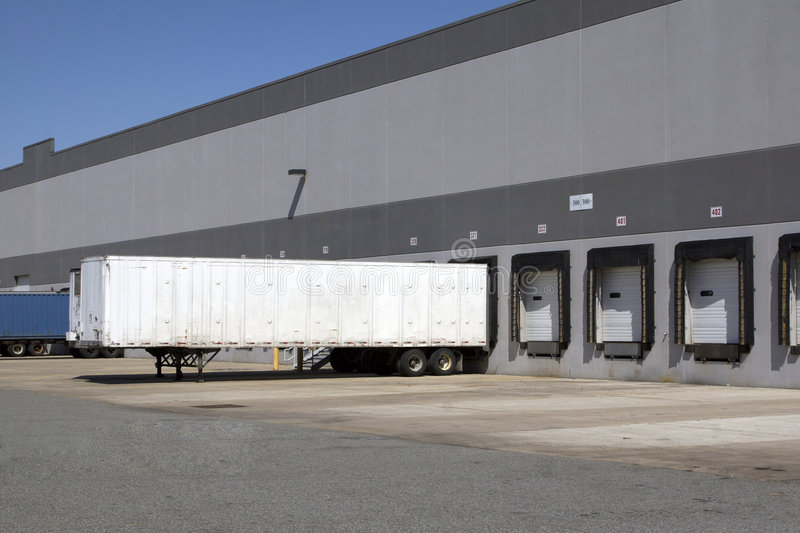 Download Warehouse loading dock stock photo. Image of load, distribution - 2381302
