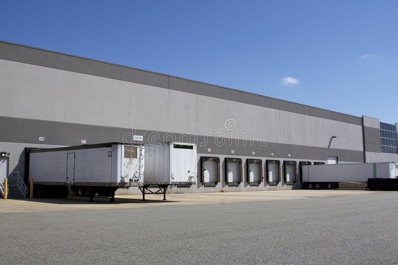 Download Warehouse loading docks stock image. Image of load, stock - 2404707
