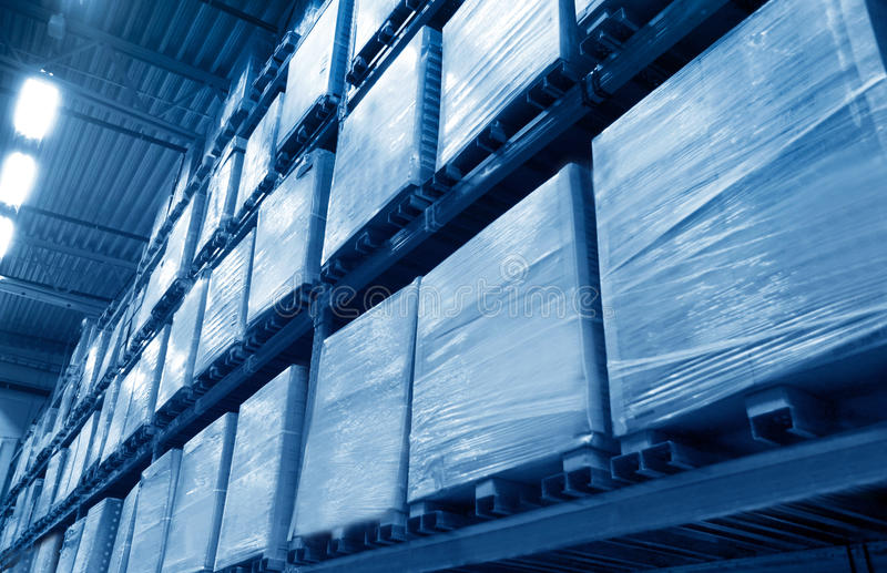 Download Warehouse stock photo. Image of buildings, room, package - 34285396