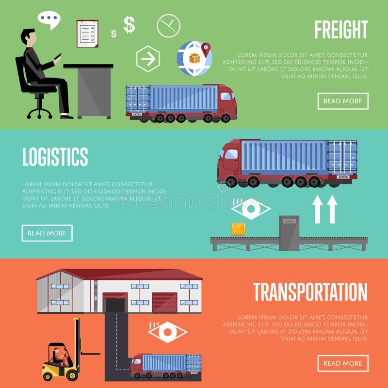 Warehouse process infographics raster illustration vector illustration