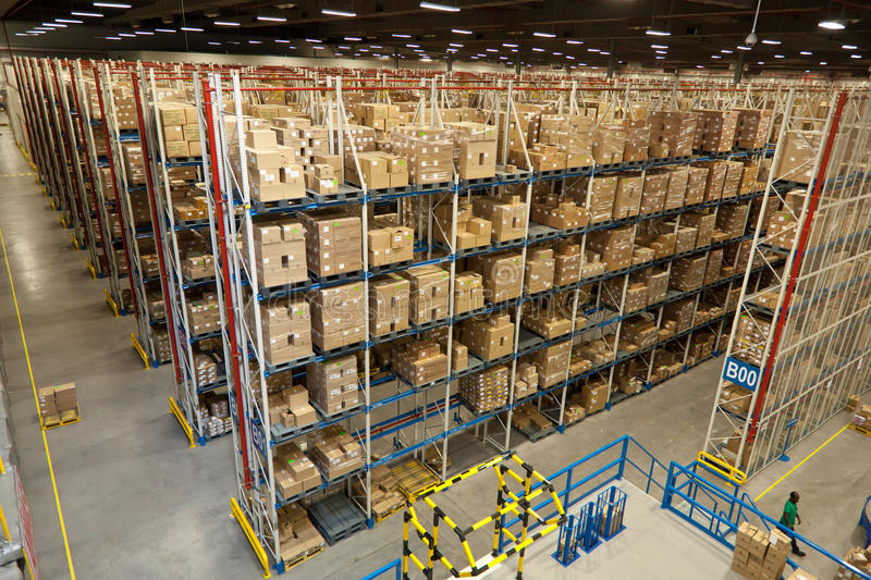 Warehouse Racks stock photos