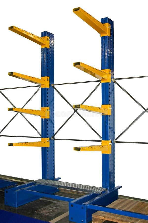 Warehouse shelf royalty free stock photography