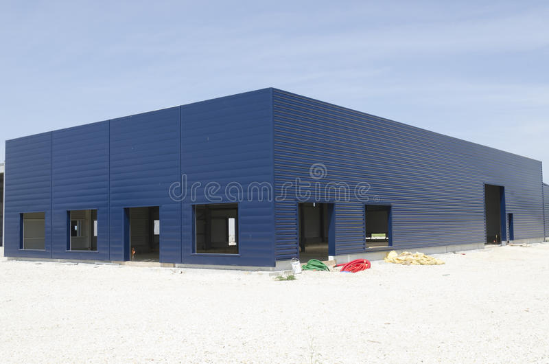 Download Warehouse Under Construction Stock Photo - Image: 26313280