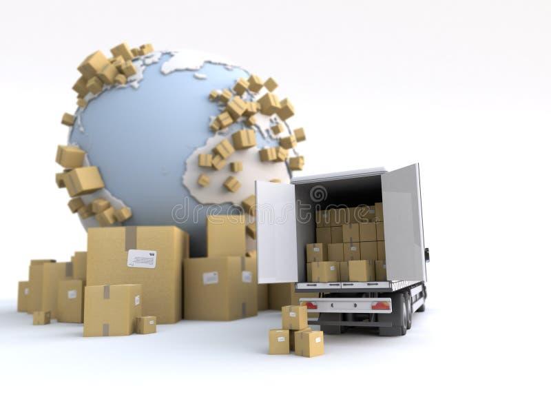 Warentransport stockfotos