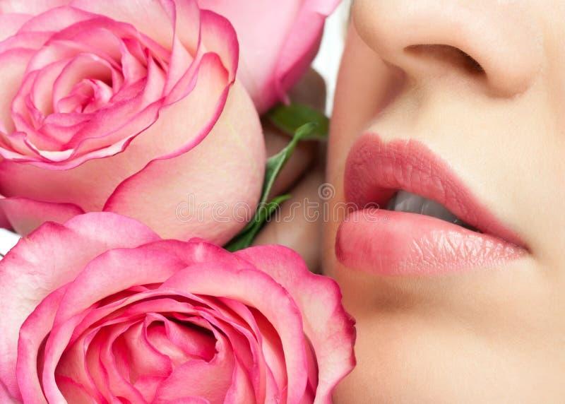 warg żeńskie róże zdjęcia stock