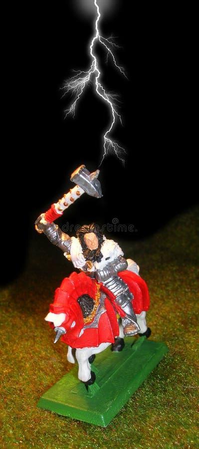 warhammer статуи стоковое изображение