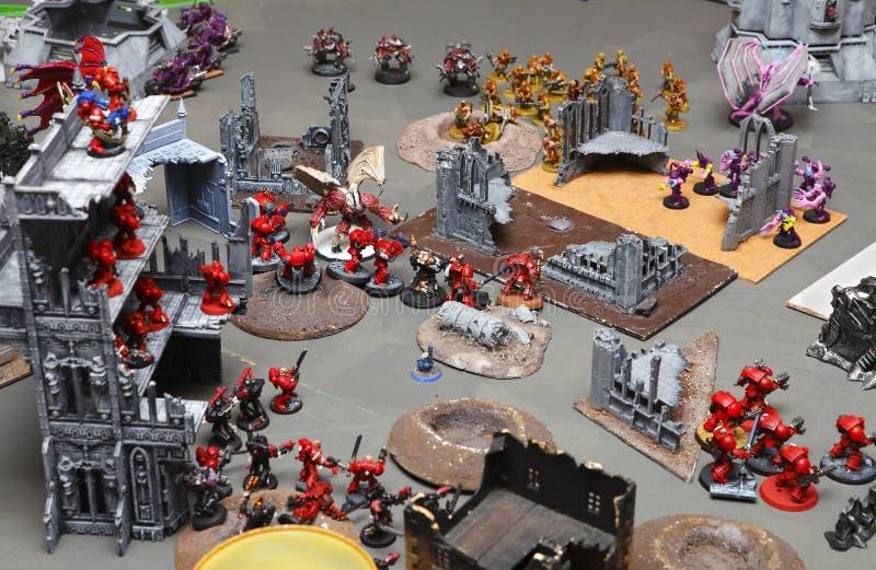 Warhammer 40000个40K 免版税库存图片