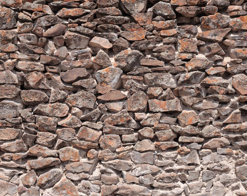 Stone wall by Wari Culture in Peru royalty free stock photography