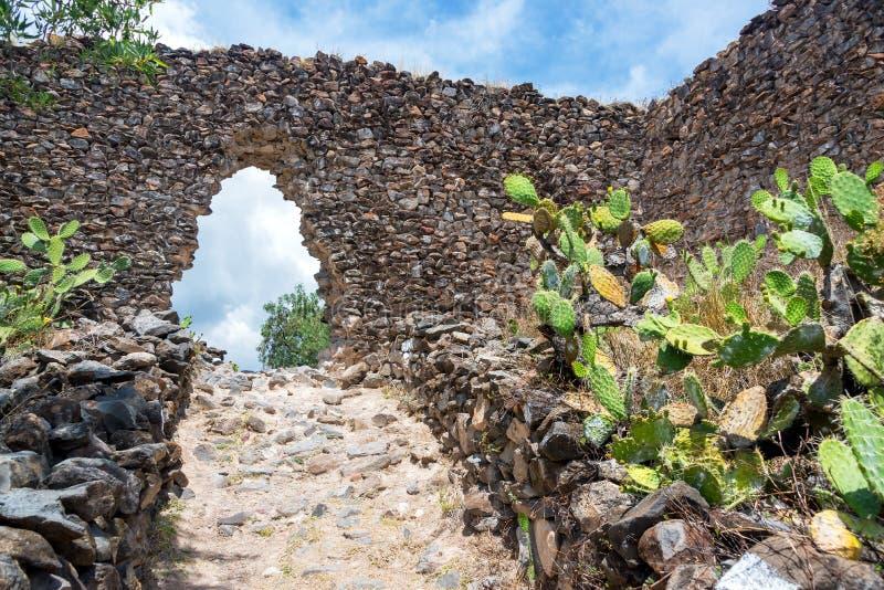 Wariruïnes in Peru stock foto's