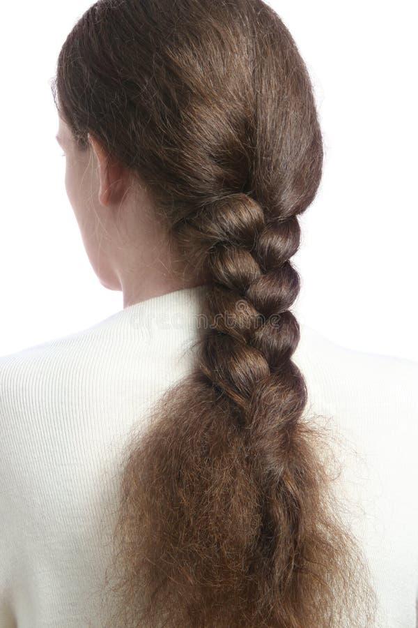 warkocza włosy obrazy stock