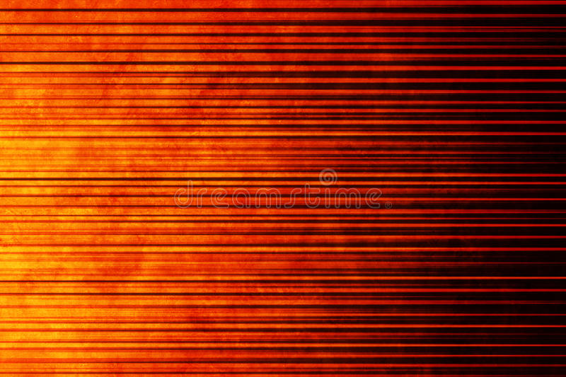 Warm Abstract Orange Linear Background. An abstract warm background with a linear pattern royalty free stock images