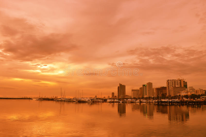Download Warm ambience stock image. Image of manila, city, ocean - 22066313