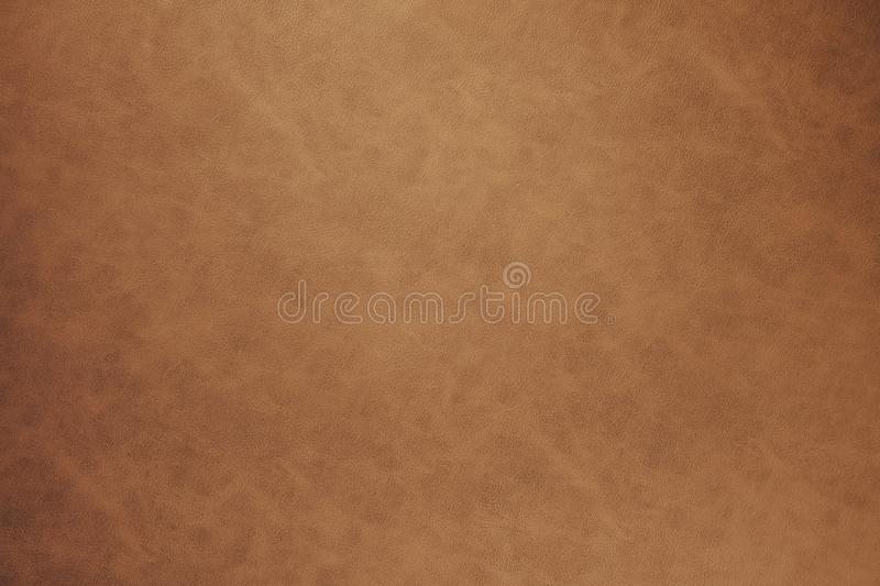 Warm Brown Leather Texture Background Stock Image