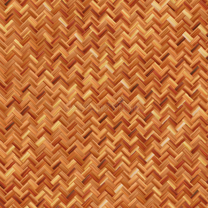 Warm Brown Weave Royalty Free Stock Photography