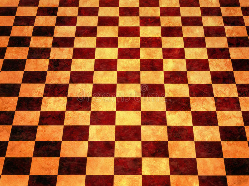 Download Warm Checkerboard Background Stock Photo - Image: 10307812