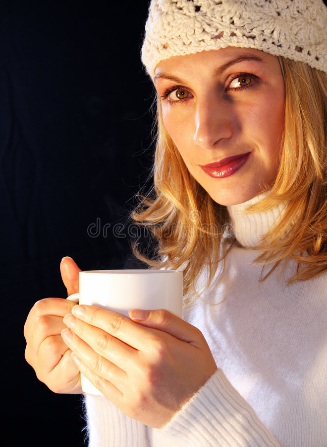 Download Warm cup of tea stock photo. Image of warm, attractive - 317194