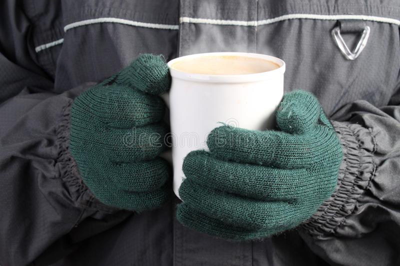 Download Warm Drink In Winter Royalty Free Stock Images - Image: 11757049