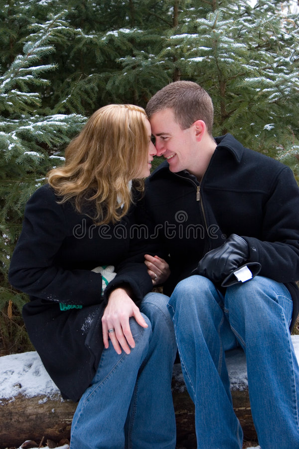 Warm Embrace royalty free stock photography