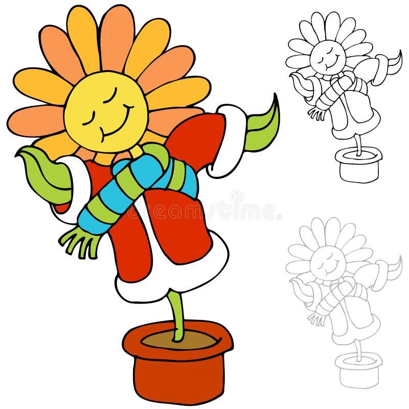 Warm Flower Stock Photos