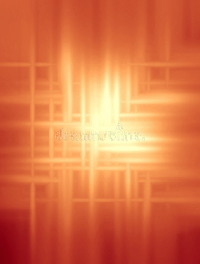 Warm Orange Abstract Background stock photo