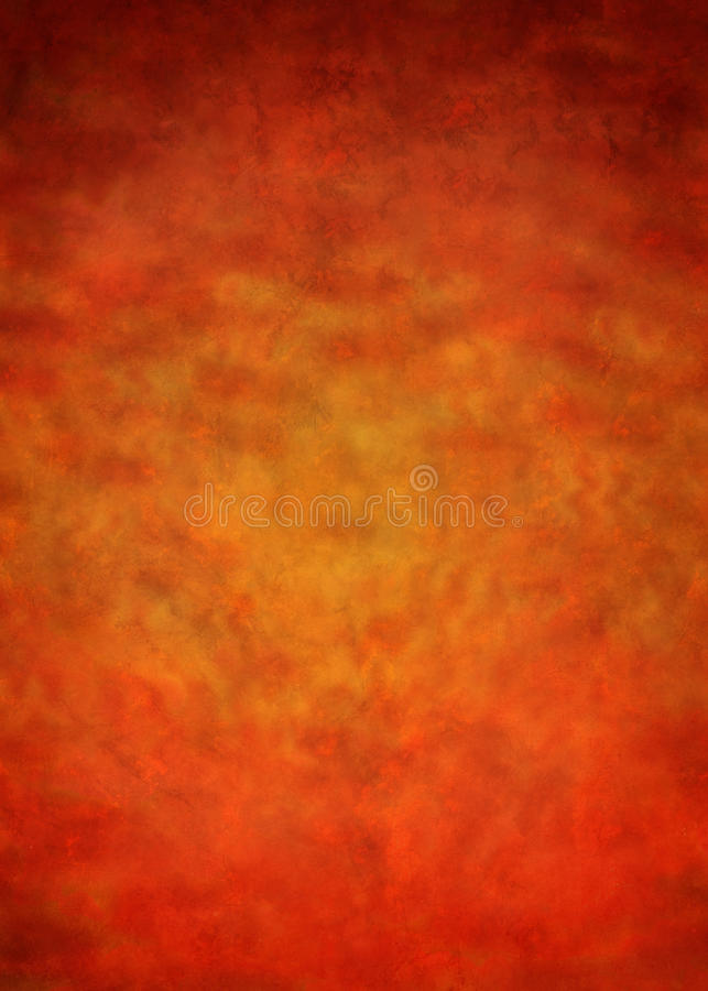 Warm Painted Abstract Background. An abstract painted background with warm tones