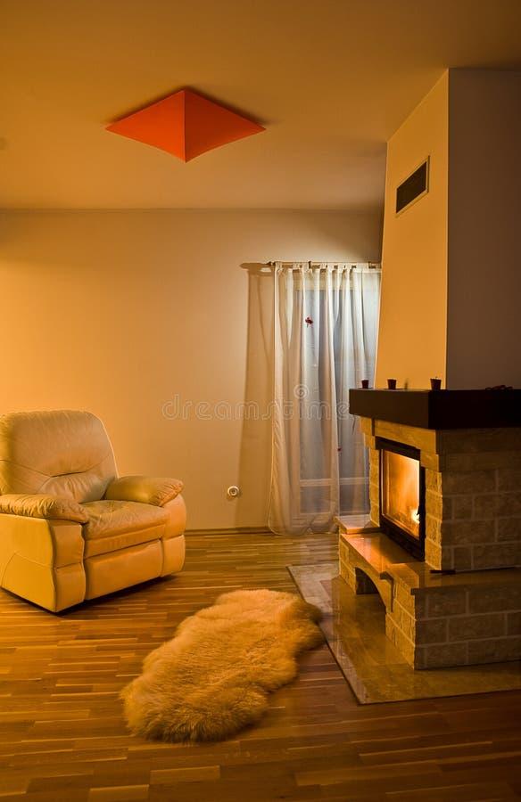 Warm Room stock photo
