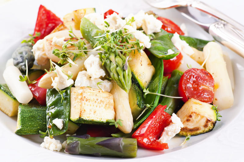 Warm Salad Royalty Free Stock Images