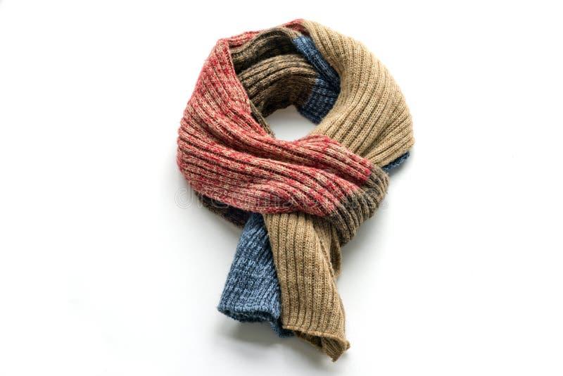 Warm scarf royalty free stock image