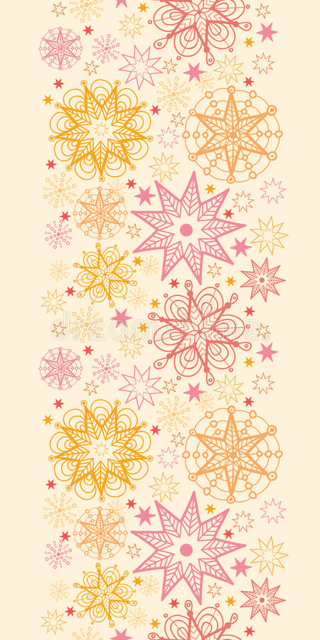 Download Warm Stars Vertical Seamless Pattern Background Stock Vector - Image: 32345972