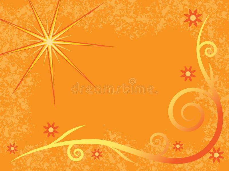 Download Warm Sun stock vector. Illustration of grunge, backdrop - 3570076