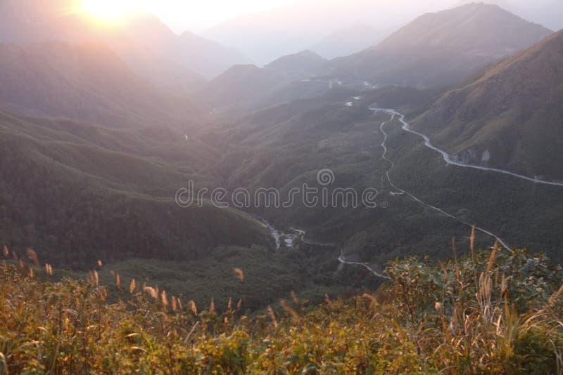 Warm sunrise royalty free stock photography