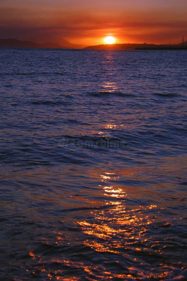 Warm Sunset Royalty Free Stock Photos