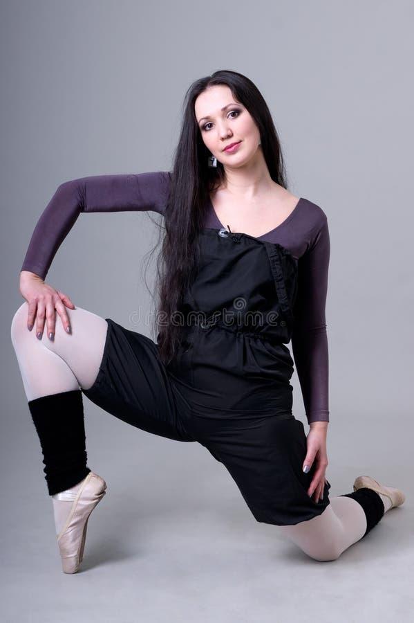 Free Warm-up Dancer. Ballerina. Stock Images - 20146084
