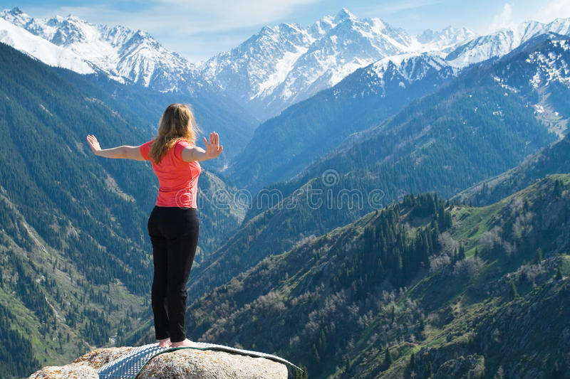 Download Warm Up Before Doing Yoga Poses. Stock Image - Image: 26472607