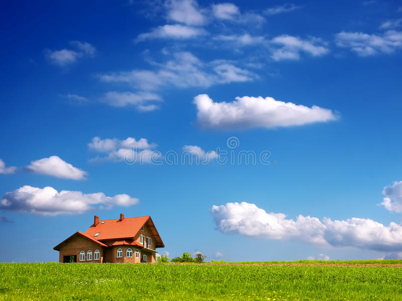 Warm your house royalty free stock photo