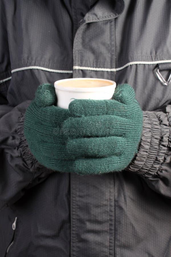 Warme drank in de Winter stock foto's