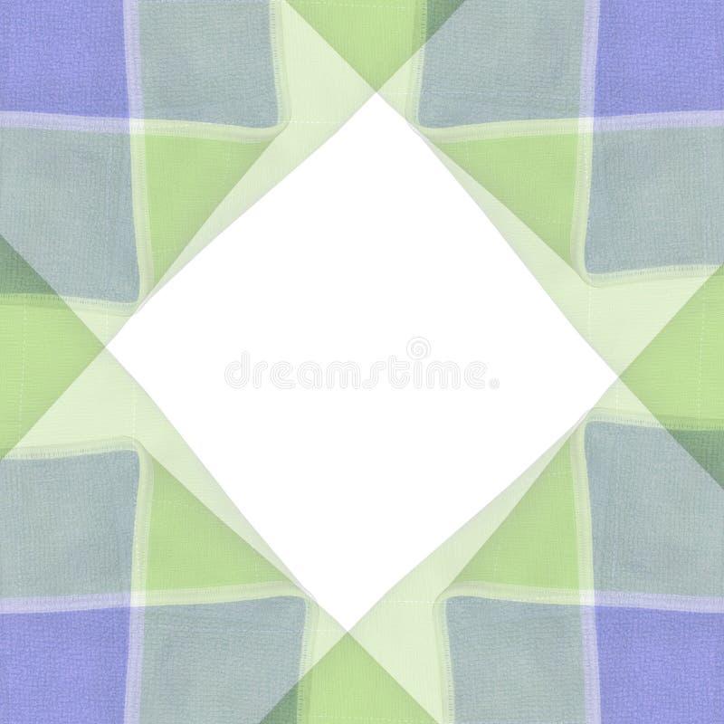 Warme Farben-Fliese-Muster stockbild