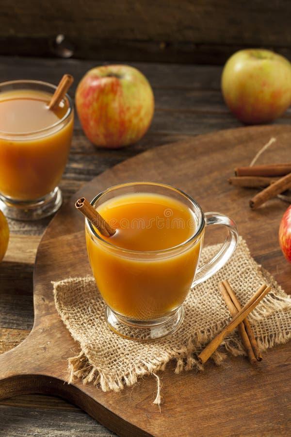 Warme Hete Apple-Cider royalty-vrije stock foto's