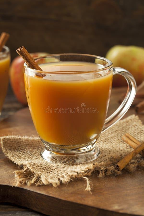 Warme Hete Apple-Cider stock afbeeldingen