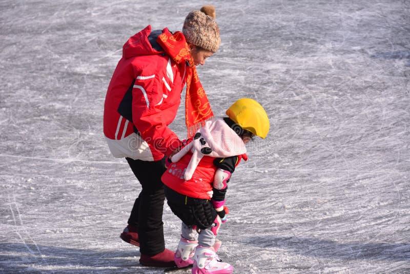 Warme moeder en dochter royalty-vrije stock foto
